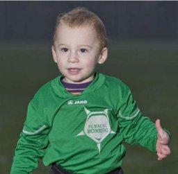 Niño de 20 meses se convierte en el futbolista federado más joven de Bélgica