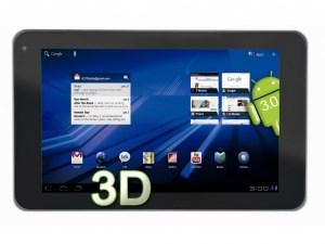 Crean tabletas para ver en 3D sin lentes