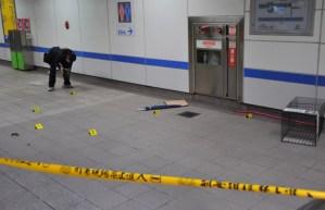 Cuatro muertos y 21 heridos en un ataque indiscriminado en el metro de Taipei (Fotos)