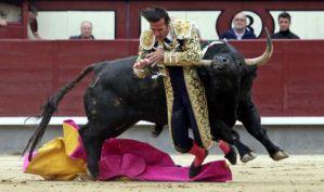 """Suspensión """"histórica"""" de una corrida en Madrid al ser heridos los tres matadores"""