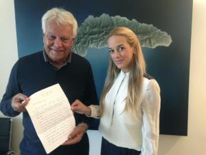 Leopoldo López envió carta al expresidente español Felipe González