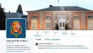 La Casa Real Española estrenó su cuenta en Twitter