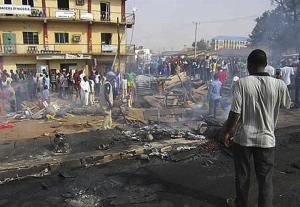 Al menos 5 muertos al explotar una bomba en una iglesia en norte de Nigeria