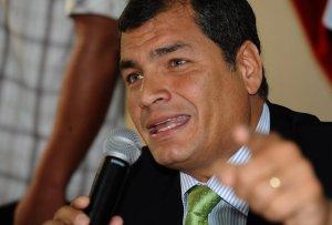 Correa propone crear una corte internacional de justicia ambiental