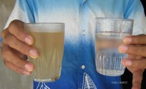 Guía básica para el tratamiento doméstico del agua y su almacenamiento seguro