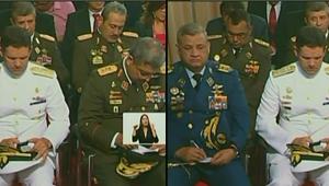 ATENCIÓN: Esto es lo que anotaban los militares mientras Nicolás hablaba