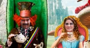 """Tibisay, Gladys, Cilia y Nicolás… en El País de las """"Maravillas"""" (FOTOMONTAJE)"""