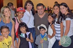 Niños cumpliendo un sueño con Angeles del Corazón