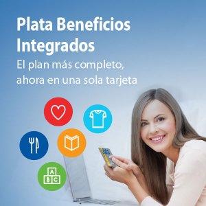 Plata beneficios integrados: Todas las soluciones en una sola tarjeta