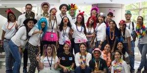 Voluntarios de DirecTV entregaron sonrisas a los niños del Hospital Universitario de Caracas