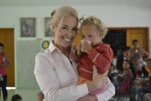 Diana D'Agostino y Leynys de Díaz iniciarán Operativo Solidaridad en Nueva Esparta