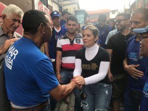 Griselda Reyes: Baruta necesita gerencia con gente comprometida y capacitada