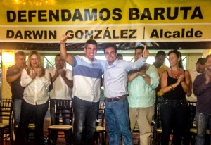 David Uzcátegui da su respaldo a Darwin González para Alcalde de Baruta