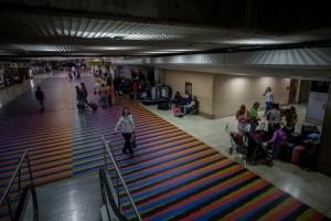 Solo nueve aerolíneas internacionales quedan en Venezuela
