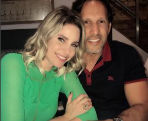 Con esta fotografía María Alejandra Requena recordó a su esposo el 14 de febrero