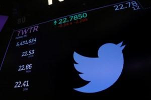 Ingresos de Twitter son golpeados por menor publicidad y baja demanda