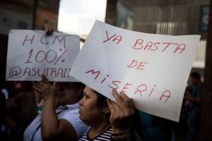 Empleados públicos en Venezuela sobreviven con sueldos vergonzosos