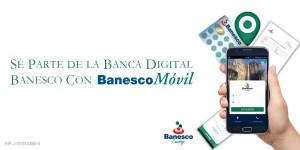 Banesco lanza nueva versión de su App BanescoMóvil