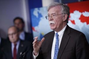 Bolton discutirá en Fox News sobre las nuevas sanciones contra funcionarios del régimen de Maduro
