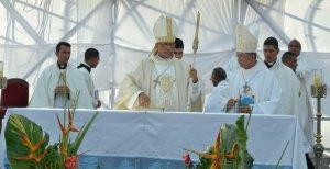 Monseñor Victor Hugo Basabe pide al Nazareno liberar a Venezuela de la corrupción