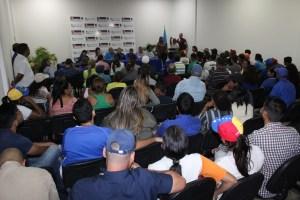 UNT participa de forma activa para inscribir voluntarios x Venezuela