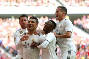 Real Madrid confirma su buen momento tras vencer al Atléticoen el derbi de la capital