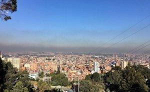 Declaran alerta amarilla en Bogotá por contaminación ambiental