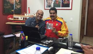 """Un Omar Enrique orgulloso de sus amistades, dice que estará con Maduro """"hasta la muerte"""""""