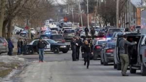Seis muertos deja el tiroteo en una fábrica en las afueras de Chicago (Fotos)