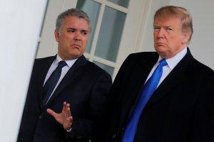 """¿Sentimiento nacional? La mirada de Trump y el repudio de Duque a la """"revolución bolivariana"""""""