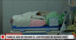 Justicia de Bolivia investiga caso de bebé que fue erróneamente declarado muerto al nacer