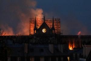 Liga de fútbol francés ayudará en la reconstrucción de Notre Dame