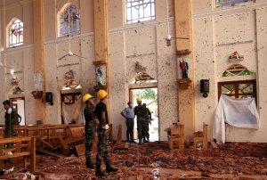 El Papa condena atentados en Sri Lanka como actos terroristas injustificados