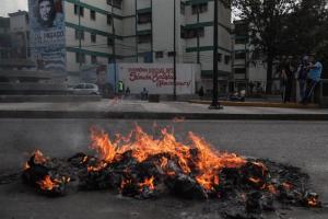 EN FOTOS: Maduro el usurpador y su apagón, los Judas más quemados en las calles de Venezuela