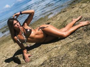 ¿Vas a seguir así de buena Abigail? Las sensuales fotos de Catherine Fulop en Instagram
