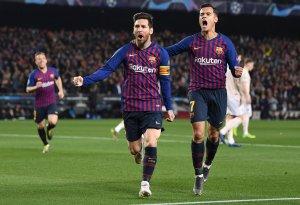 ¡Nadie detiene al enano! Los dos goles de Messi que eclipsan al Manchester (VIDEO)
