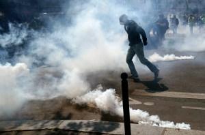 Primeras escaramuzas en París en nueva jornada de protestas de chalecos amarillos