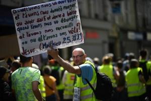 Sábado tenso en París ante nuevas manifestaciones de chalecos amarillos