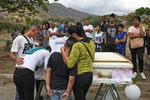 La crisis dicta sentencia de muerte a niños en Venezuela