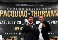 Thurman quiere retirar a Manny Pacquiao en su próxima pelea