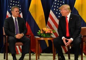 Colombia y Estados Unidos firman memorando para mejorar la seguridad entre ambos países