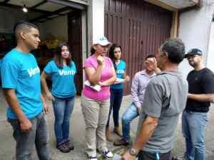 Vente Mérida recorrió sector La Hoyada de Milla en contacto ciudadano