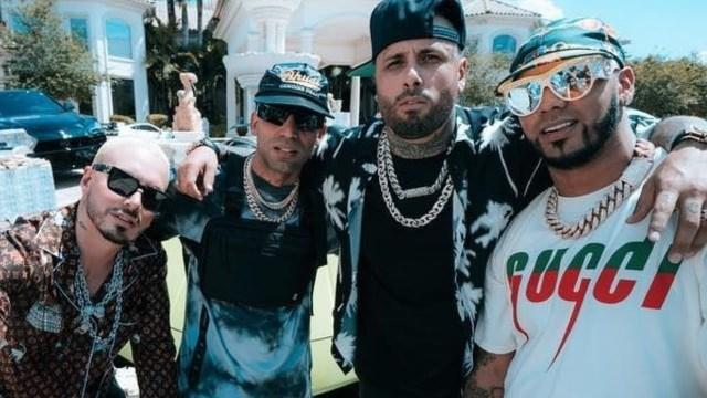 Nicky Jam, Anuel AA, J Balvin y Arcángel