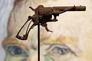 Subastarán el revolver con que se suicido Vincent van Gogh (foto)