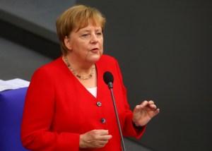 Angela Merkel pide paciencia a los alemanes respecto al confinamiento