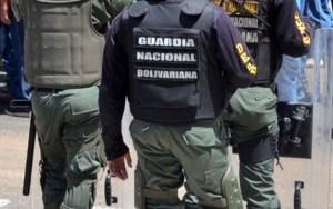 Cuatro sujetos resultaron abatidos entre ellos un GN en Bolívar