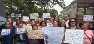 Docentes protestan y piden a Bachelet que observe las penurias por las que pasan los niños venezolanos #20Jun (VIDEO)