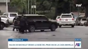 EN VIDEO: Michelle Bachelet se reunió en el Pnud con una Comisión de las Naciones Unidas #20Jun
