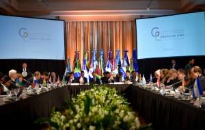 El Grupo de Lima se reunirá en Canadá el #20Feb (VIDEO)