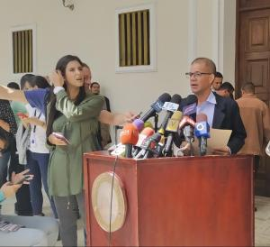 Diputado Omar Ávila consignó propuesta para un encuentro nacional